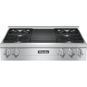 KMR 1135-1 G - RangeTop with 4 burners and grill for versatility and performance