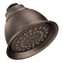 "Moen oil rubbed bronze one-function 4-3/8"" diameter spray head eco-performance showerhead"