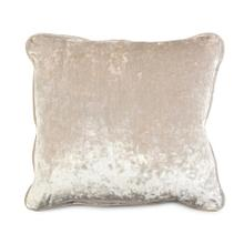 Solid Toss Pillow in Light Brown