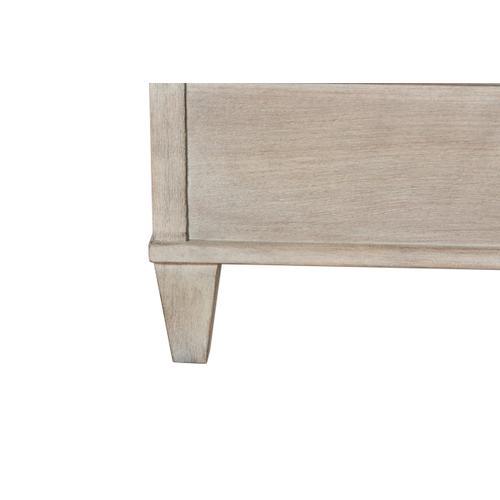 A.R.T. Furniture - Kirby Upholstered California King Bed Bone Weathered Oak Oiled Bronze