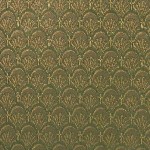 Flash Furniture - 18.5''W Church Chair in Arches Lichen Fabric - Gold Vein Frame