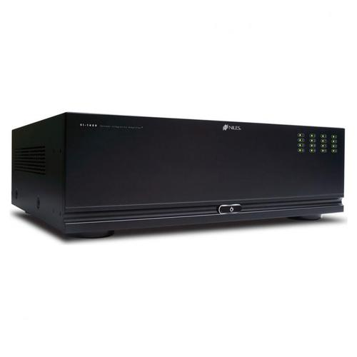 16 Chan, Fully IP Configurable Power Amp; 16 x 50W; Rack Ears Incl.; 110/240V SI-1650