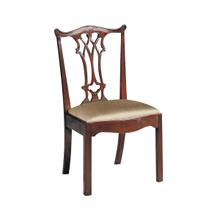 See Details - CONNECTICUT POLISHED MAHOGANY SIDE CHAIR