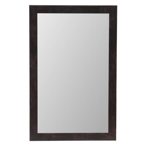 MIRROR DARK WALNUT FRAME