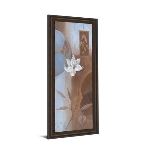 """""""White Flower Il"""" Framed Print Wall Art"""