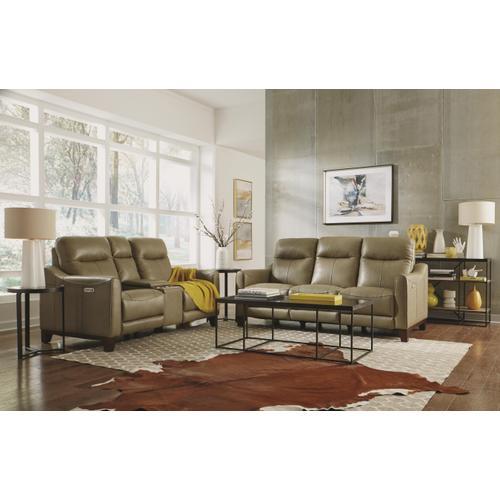 Flexsteel - Forte Power Reclining Sofa with Power Headrests