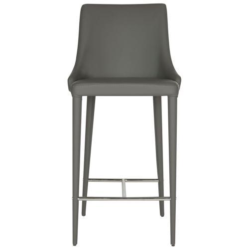 Summerset Counter Stool - Grey / Chrome