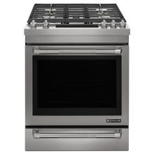 """See Details - Jenn-Air® 30"""" Dual™Fuel Range - Pro Style Stainless"""