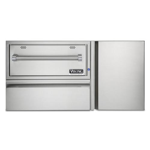"""Viking - 42"""" Convenience Center with Warming Drawer"""