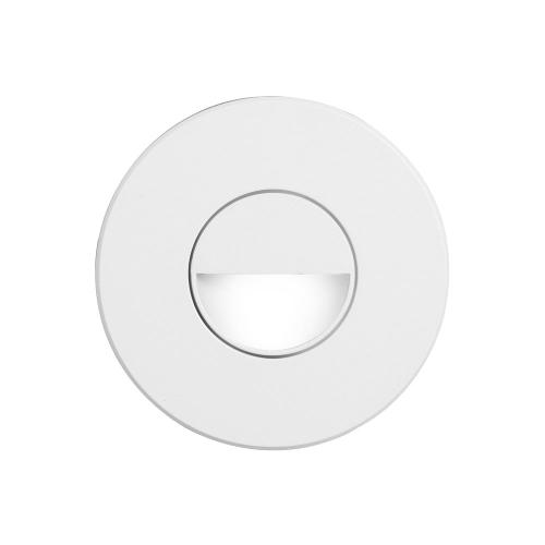 White Round In/outdoor 3w LED Wall Light