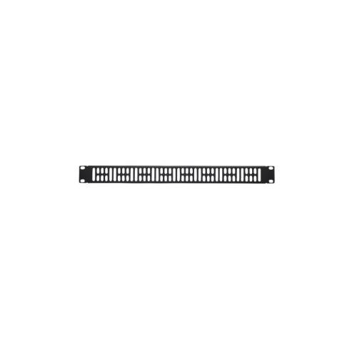 1U Steel Vented Blanking Panel; Fits all Component Series AV racks
