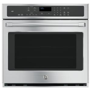 """GE CafeGE Cafe™ Series 30"""" Built-In Single Convection Wall Oven"""