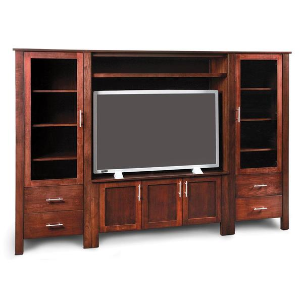 See Details - East Village Wall Entertainment Center