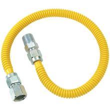"Gas Dryer & Water Heater Flex-Line (1/2"" OD x 48"" (1/2"" FIP x 1/2"" MIP)"