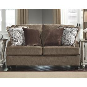 Braemar Loveseat Brown