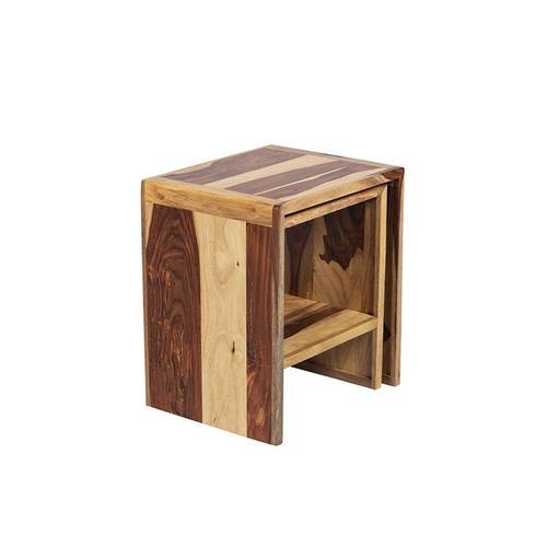Porter International Designs - Sheesham Accents Nesting Tables, PDU-07