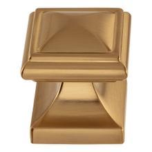 View Product - Wadsworth Knob 1 1/4 Inch - Warm Brass