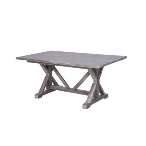 Table, Available in Vintage Smoke Finish Only.