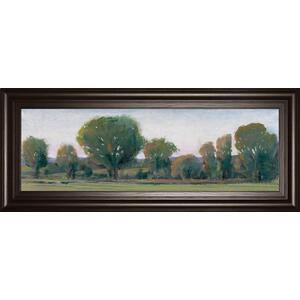 """Panoramic Treeline Il"" By Tim Otoole Framed Print Wall Art"