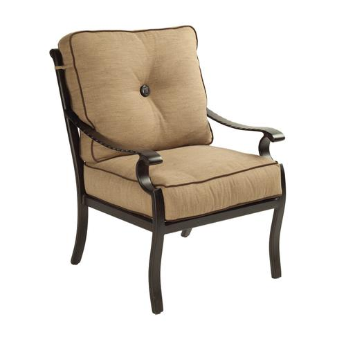 Castelle - Monterey Cushioned Dining Chair