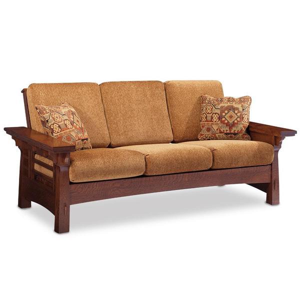 See Details - M Kayla Sofa, Loveseat Recliner / Fabric Cushions