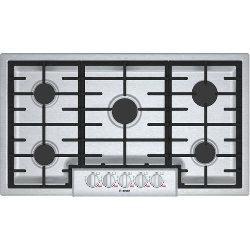 Bosch Canada - Benchmark® Gas Cooktop 36'' Stainless steel NGMP656UC