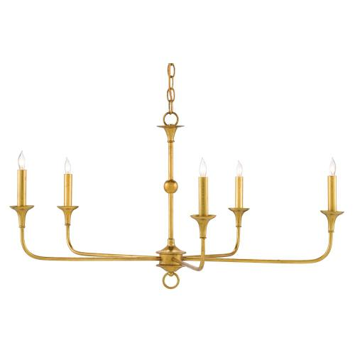 Gallery - Nottaway Gold Small Chandelier
