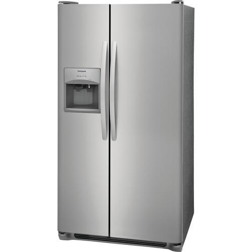 Frigidaire - Frigidaire 25.5 Cu. Ft. Side-by-Side Refrigerator