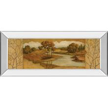 """River Scene Il"" Mirror Framed Print Wall Art"
