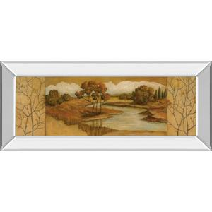 """""""River Scene Il"""" Mirror Framed Print Wall Art"""