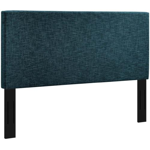 Modway - Taylor Full / Queen Upholstered Linen Fabric Headboard in Azure