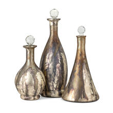 NK Dione Glass Bottles - Set of 3