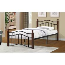 7573 Metal Platform Bed - TWIN