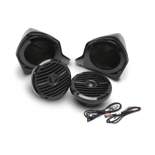 Rockford Fosgate - Add-on Front Upper Speaker Kit for YXZ STAGE2 & STAGE3