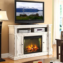 New Castle Fireplace Media Center
