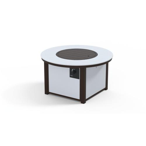 """MGP Top Fire Tables 42"""" Round MGP Top Fire Table"""