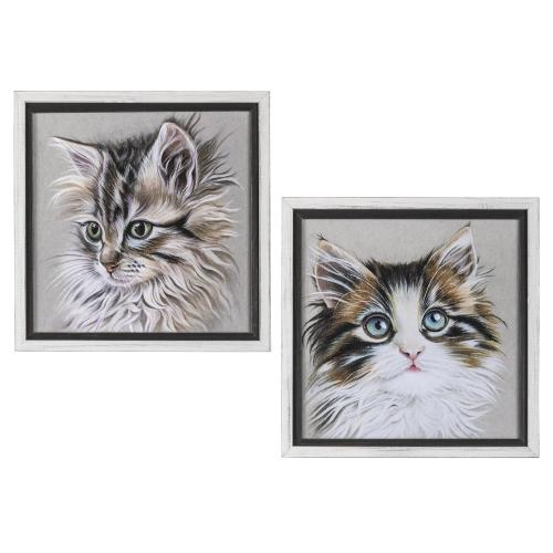 KITTEN PORTRAIT 1 & 2 (SET 2)