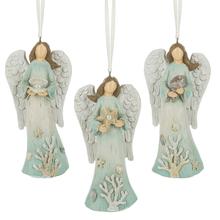 Coastal Angel Ornaments (3 asstd)