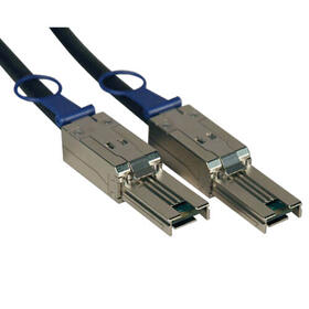 External SAS Cable, 4 Lane - mini-SAS (SFF-8088) to mini-SAS (SFF-8088), 3M (10 ft.), TAA