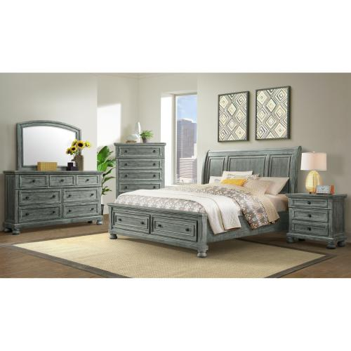 Kingston King Storage Bed