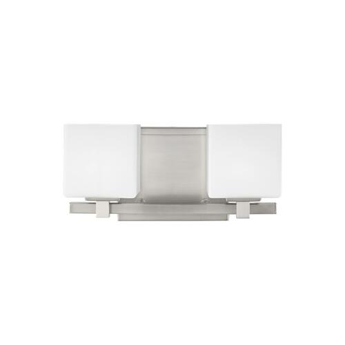 Sutton 2 - Light LED Vanity Chrome Bulbs Inc