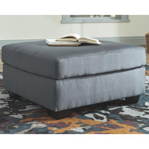 Signature Design By Ashley - Darcy Oversized Accent Ottoman