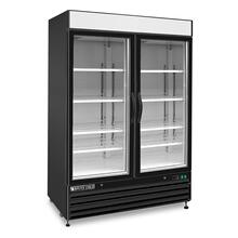 Maxx Cold X-Series Merchandiser Freezer with Glass Door (48 cu. ft.)
