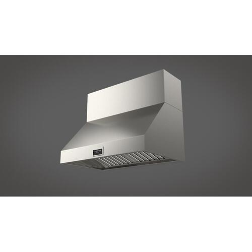 "36"" Pro Wall-mount Hood (1 Fan - Slider) - Stainless Steel"