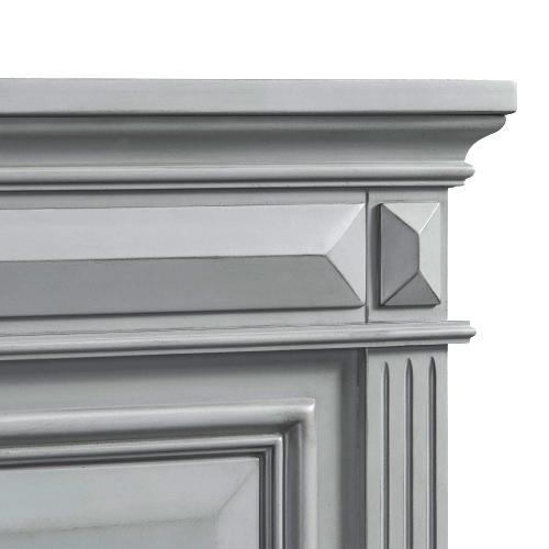 Calloway Queen Panel Bed in Grey