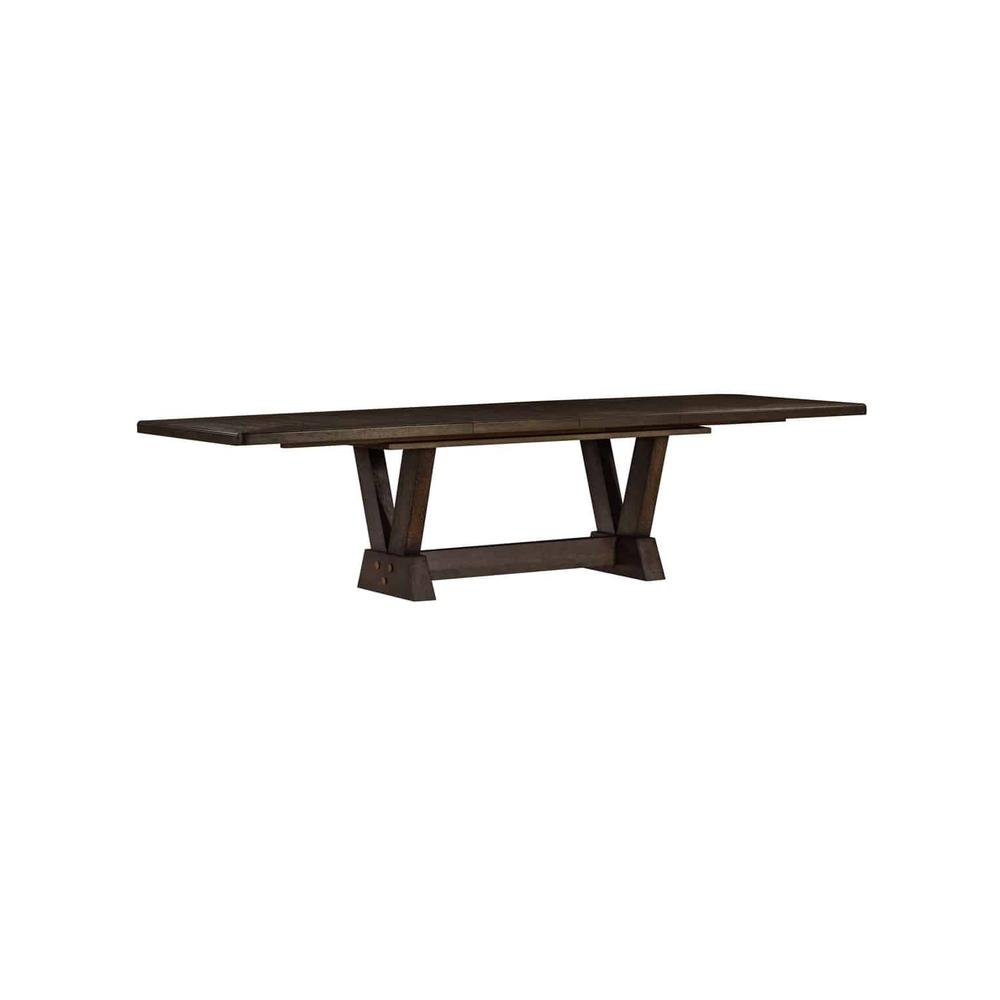 See Details - Woodwright Oak Park Dining Table