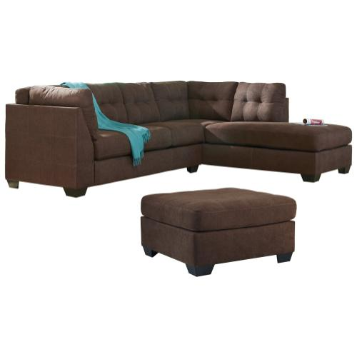 Gallery - 2-piece Sectional With Ottoman