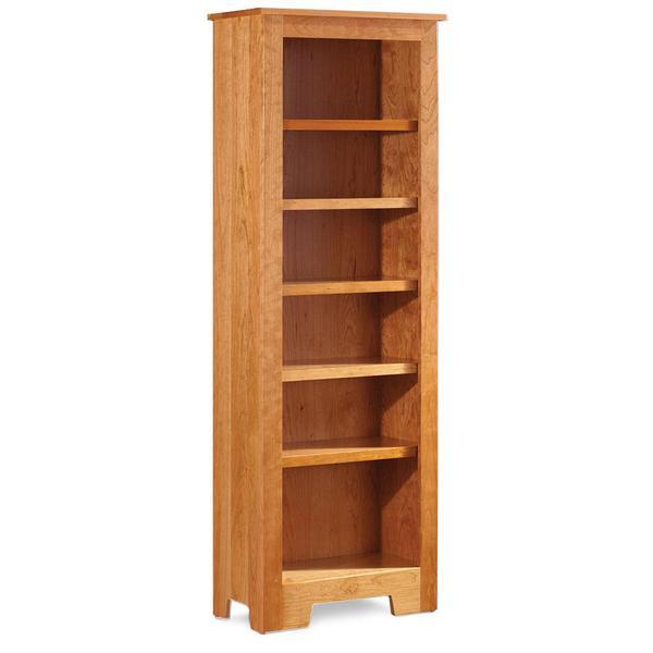 See Details - Shaker Narrow Bookcase, 4 Adjustable Shelves