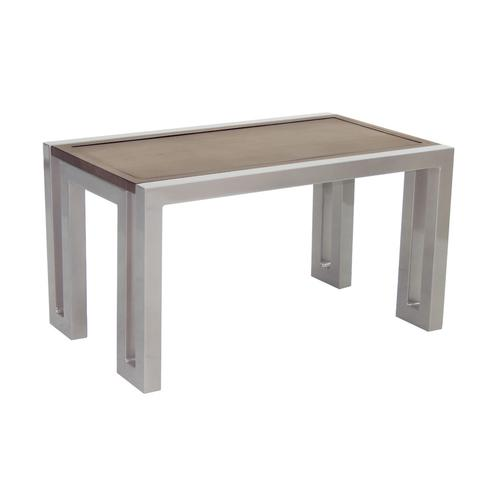 """Castelle - 34"""" Icon Small Rectangular Coffee Table"""