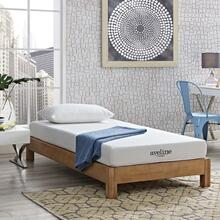 "Aveline 6"" Narrow Twin Mattress in White"
